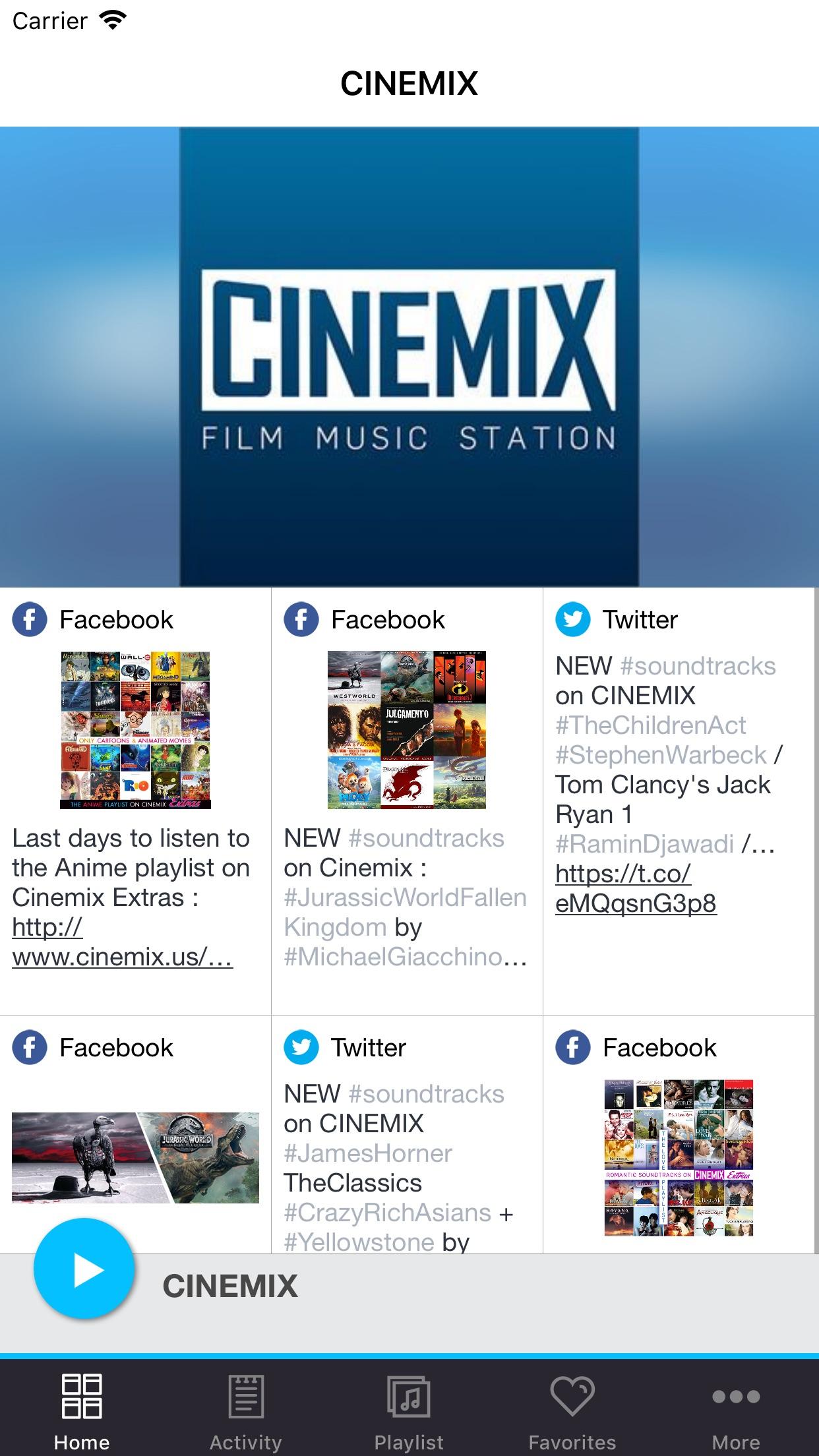 CINEMIX Screenshot