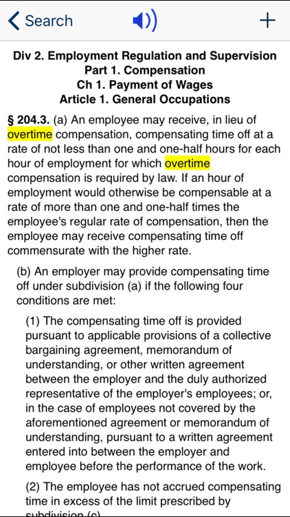 CA Labor Code 2019 screenshot-2