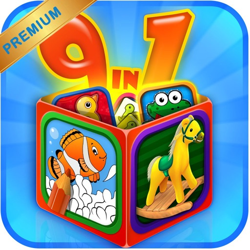 Preschool Kid Edu Game Box
