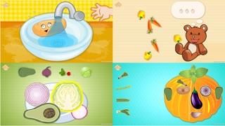 Screenshot #1 pour Les légumes drôles! Jeux éducatifs pour les enfant