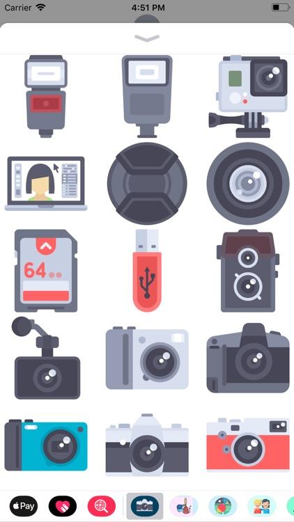 Camera & Photography Stickers screenshot-3