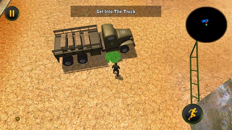 Army Cargo Truck: Battle Game screenshot-4