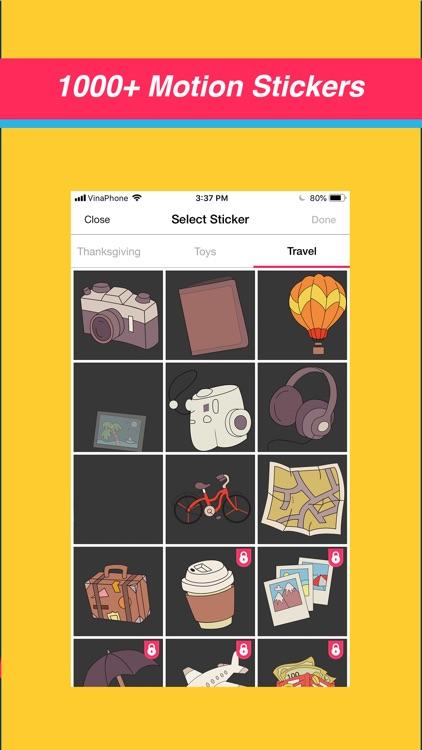 Video Maker Text Sticker Music screenshot-4