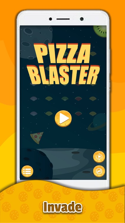 Pizza Blaster! Space shooter