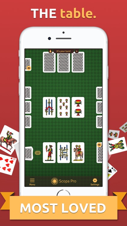 Scopa Pro - THE card game screenshot-2
