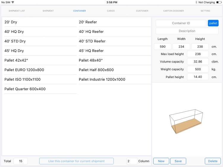 Cargo Optimizer Plus screenshot-3