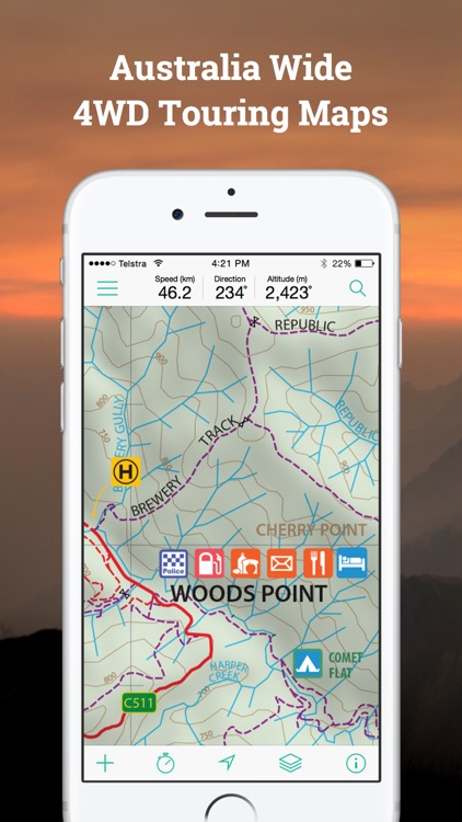Mud Map 3 4WD GPS Navigation screenshot-3