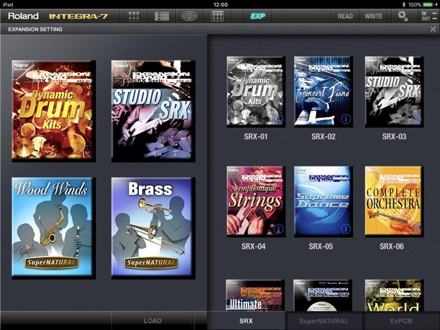 INTEGRA-7 Editor on the App Store