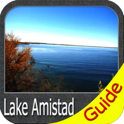 Amistad lake GPS charts fishing maps Navigator