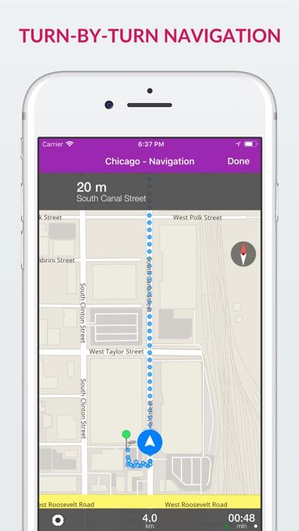 Chicago Offline Map & Guide screenshot-3