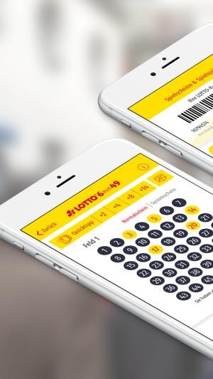 Lotto Bayern Barcode