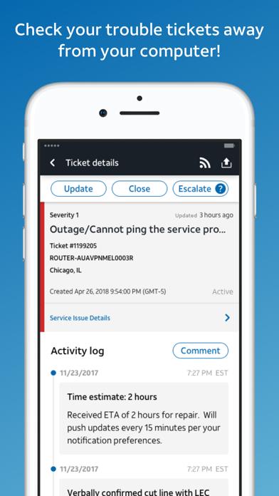 AT&T BizCenter screenshot 2