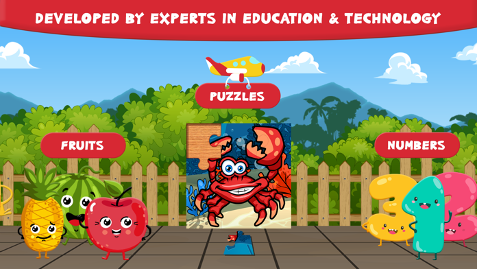 Preschool Zoo Puzzles Zoolingo Screenshot