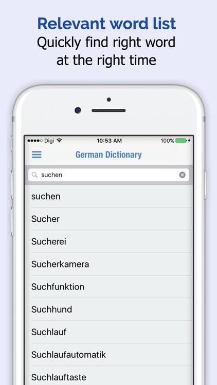 German Dictionary Elite