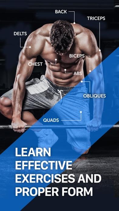 Fitness Buddy+ Gym Workout Log Screenshots