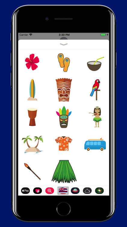 Hawaii - Trip stickers pack