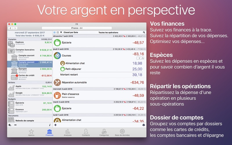 Screenshot #1 pour iFinance 4