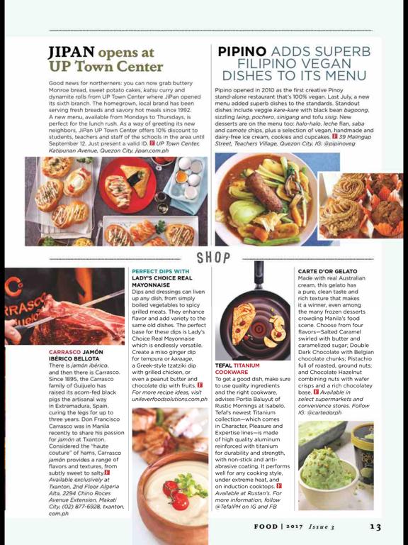 FOOD (Magazine) screenshot 10