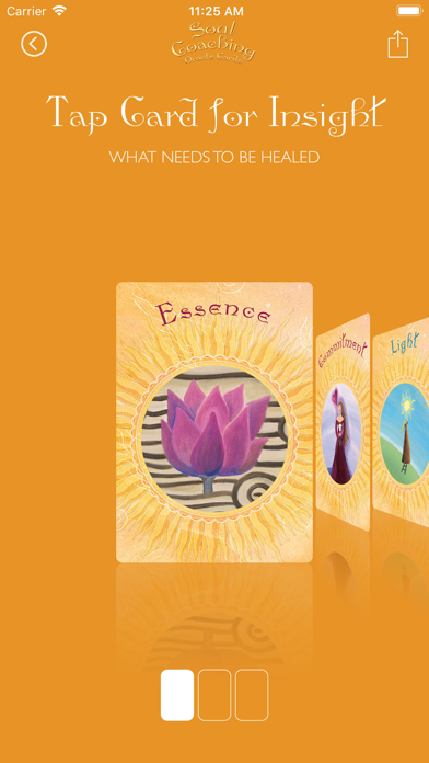 Soul Coaching Oracle Cards screenshot 3