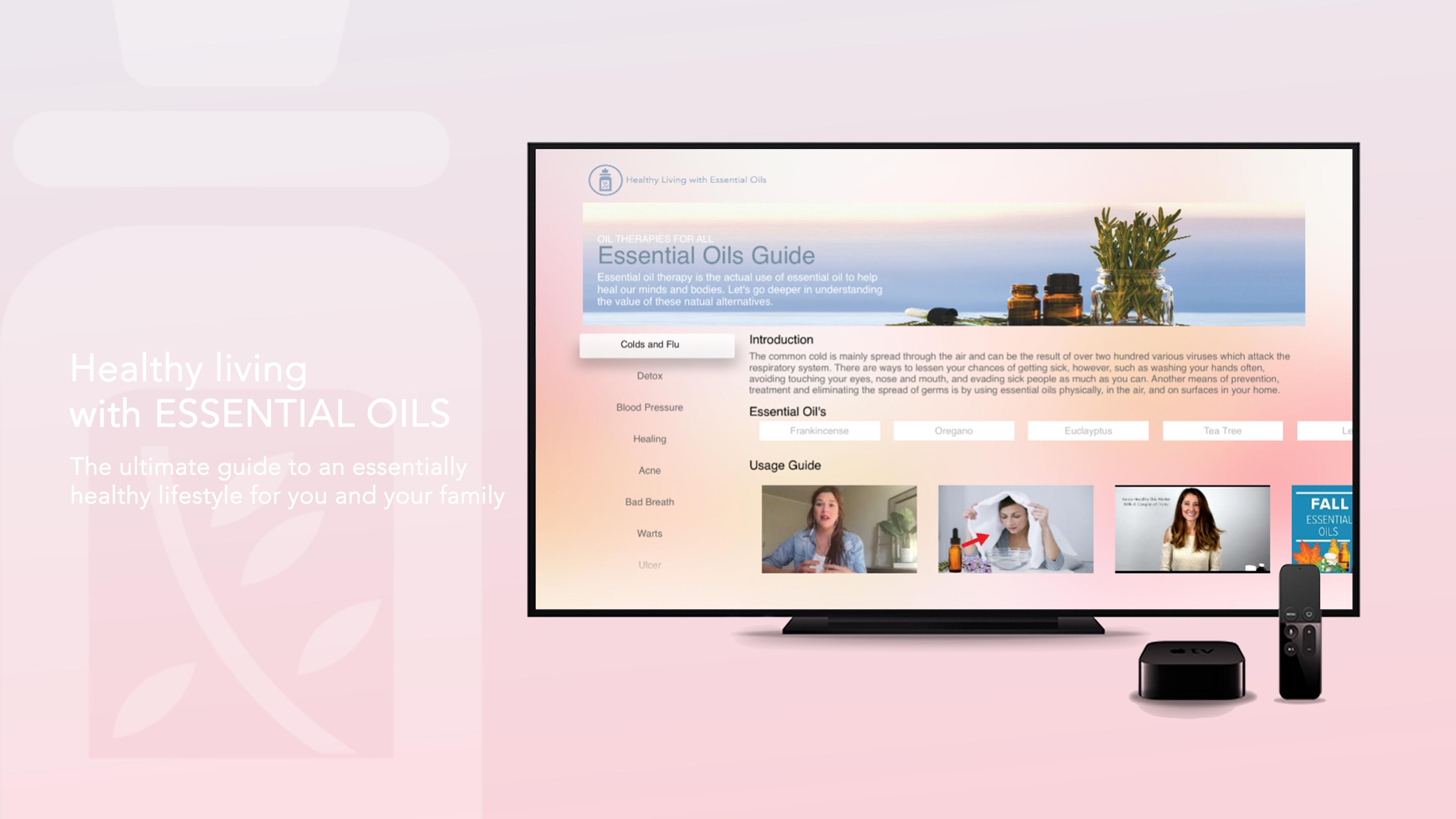 Essential Oils TV guide screenshot 1