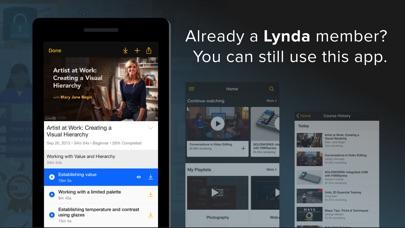 Lynda.com app image