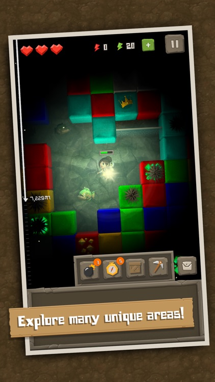 Puzzle to the Center of Earth screenshot-4