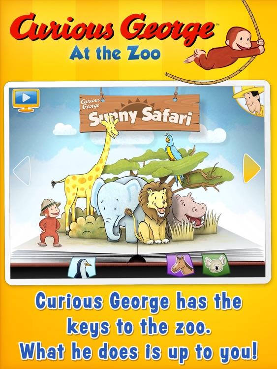Curious George: Zoo for iPad screenshot-0