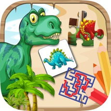 Activities of Dino mini games to play