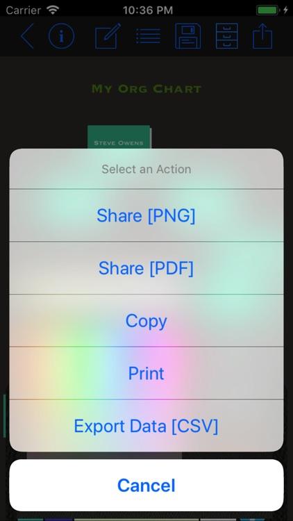 Org Chart Maker App screenshot-4