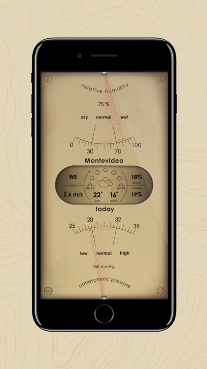 Analog Weather Station screenshot-0