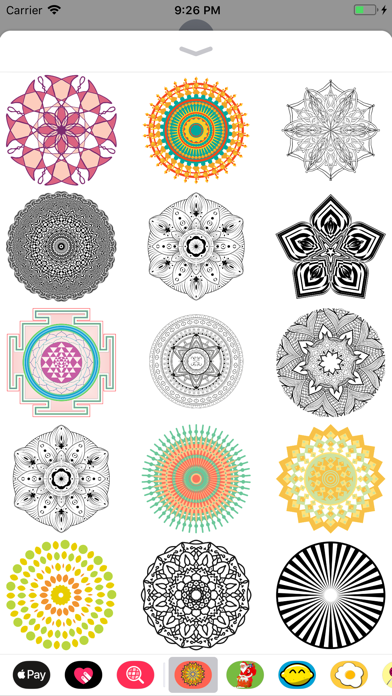 点击获取Mandala Stickers