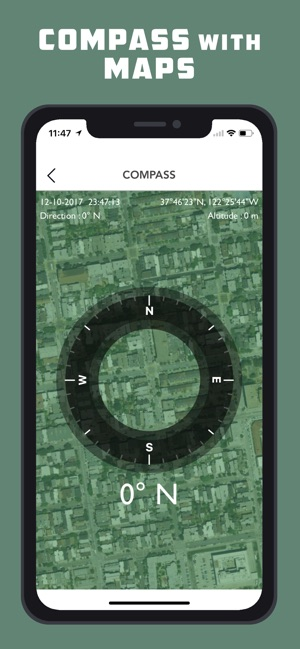 Altimeter GPS - Hike & Trek Screenshot