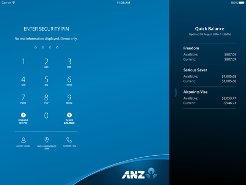ANZ goMoney New Zealand screenshot 1