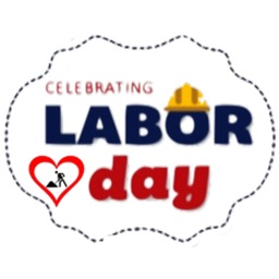 Celebrating Labor Day Sticker