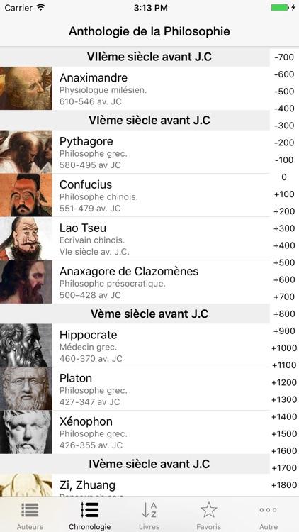 Philosophie (Anthologie de la) screenshot-3