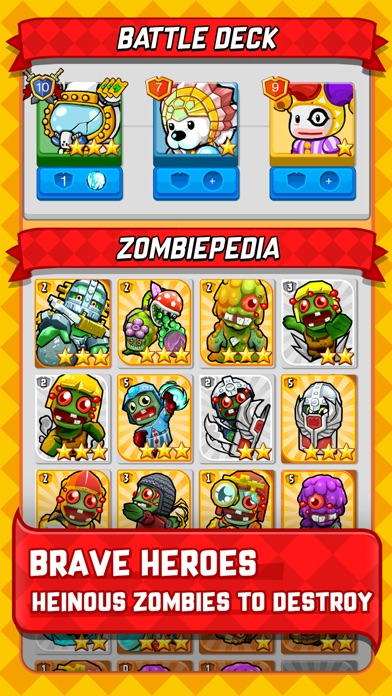 Zombie Rollerz Screenshot on iOS