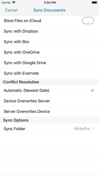 WritePad Professional screenshot-6