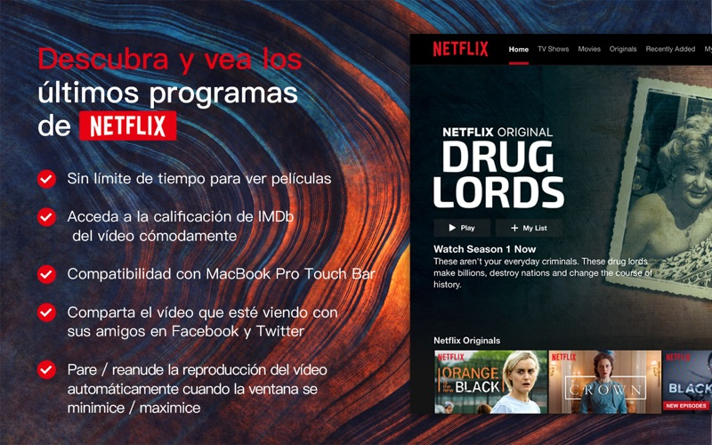 Flick for Netflix: Watch Movie | Free Mac Software