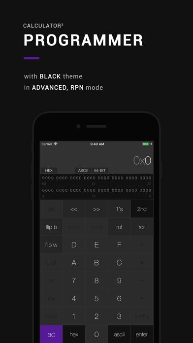 Calculator³ Скриншоты5