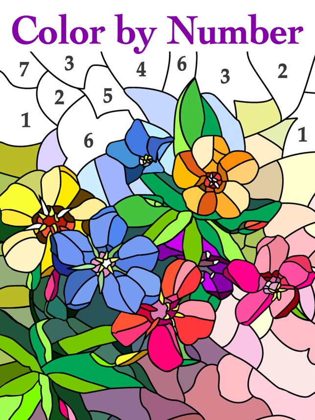 Color by Number #Coloring Book on the App Store