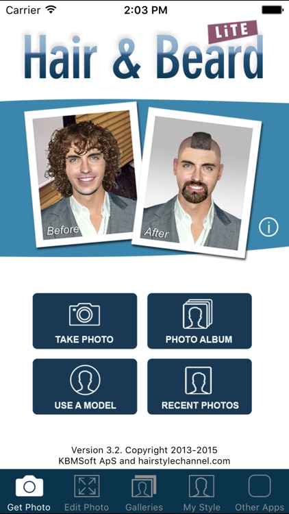 Hair and Beard Styles screenshot-4