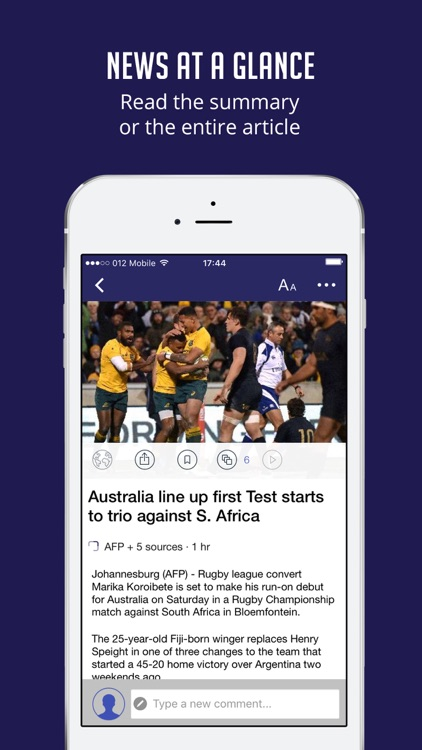 Rugby News & Live Scores