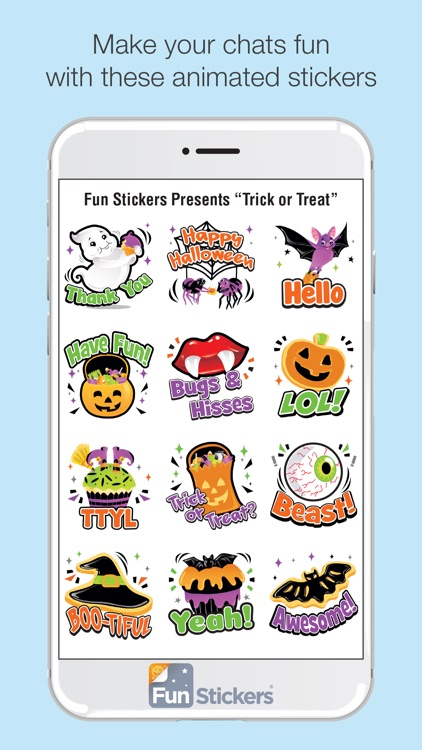 Halloween iSticker screenshot-1