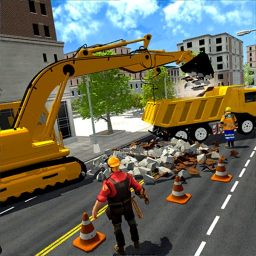 Real City Builder Simulator 3D