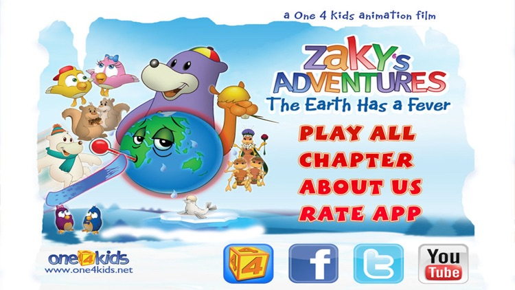 Zaky's Adventures – The Earth Has a Fever
