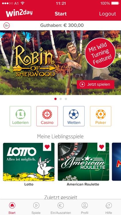 win2day: Casino, Lotto, Wetten screenshot-0