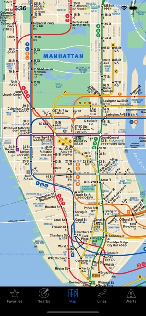 Basic Nyc Subway Map App.Nextstop Nyc Subway