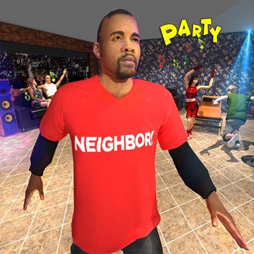 Сердитый сосед Псих Вечеринка