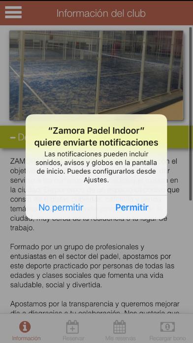 Zamora Padel screenshot 5