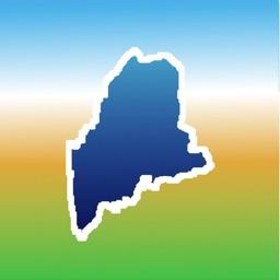 Aqua Map Maine Lakes GPS